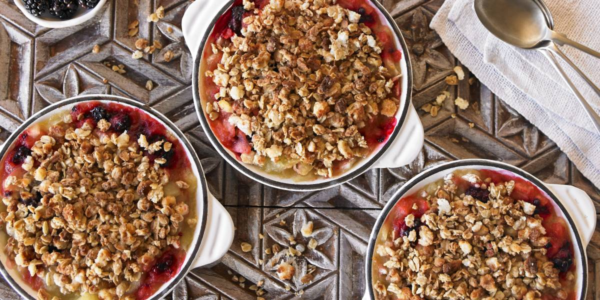Mrs Crimble's Crumble Topping